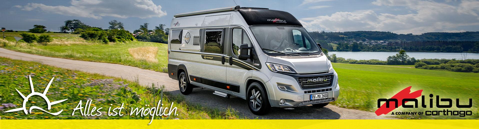 Malibu Reisemobil kaufen oder mieten im Autohaus Hollensetdt