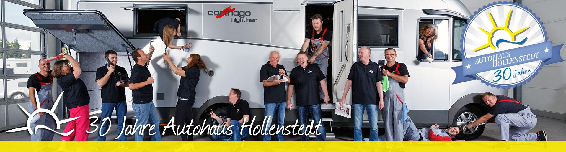 Unser Team feiert 30 Jahre Autohaus Hollenstedt